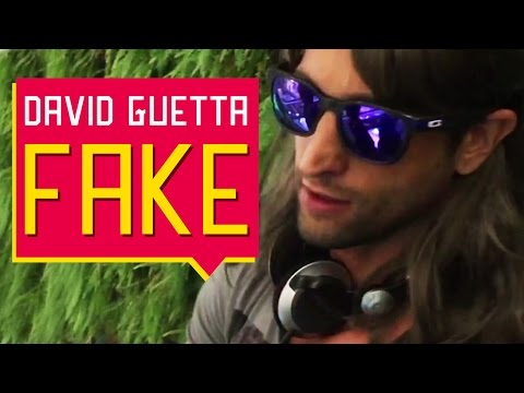 Se passando pelo David Guetta no Shopping