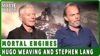 MORTAL ENGINES | Hugo Weaving and Stephen Lang talk about the movie