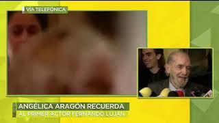 Amigos, dan el último adiós al actor Fernando Luján | Ventaneando