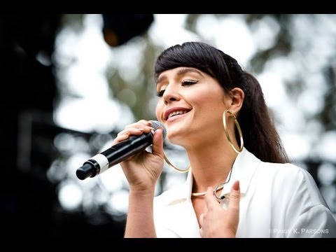 Jessie Ware - Live at Outside Lands Music & Arts Festival (2013)