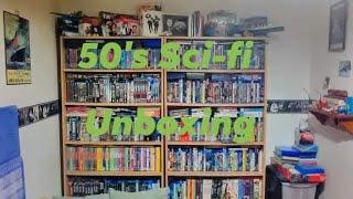 European 50s Sci-fi Movie unboxing