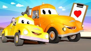 Xe tải kéo Tom - Ngày của cha đặc biệt - Món quà ngày của cha - Thành phố xe 🚗 phim hoạt hình về