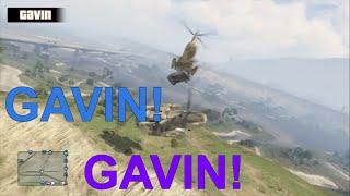 Achievement Hunter Shenanigans: Gavin And The Cargobob Accident