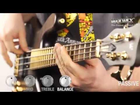 Démonstration de la basse Warwick Streamer Jazzman