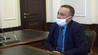 Сегодня состоялась встреча Губернатора Александра Буркова и главы Омского муниципального района