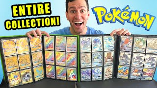 *I WAS SENT AN ENTIRE COLLECTION OF POKEMON CARDS!* Opening Mystery Box!