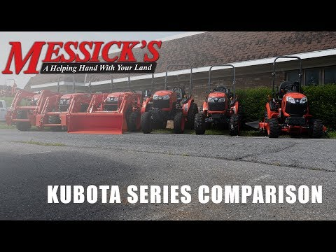 Kubota BX-B-L-MX-M | What series is right for you? Picture