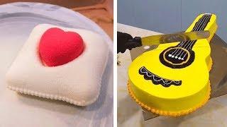 Awesome Cake Decorating Compilation | Most Satisfying Chocolate Cake | DIY Cake Decorating