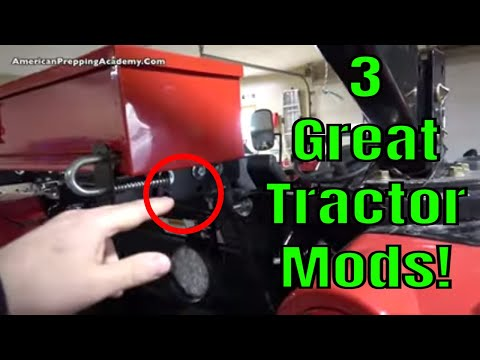 3 Useful Compact Tractor Modifications