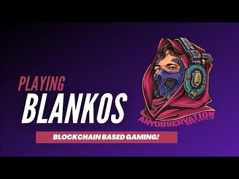 Playing some Blankos! is this THE mainstream NFT game?