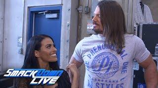 "Zelina Vega challenges AJ Styles on behalf of Andrade ""Cien"" Almas: WWE Exclusive, July 17, 2018"