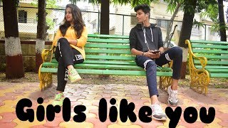 Maroon 5 - Girls Like You ft. Cardi B (Dance Cover) by Hitesh Gidwani
