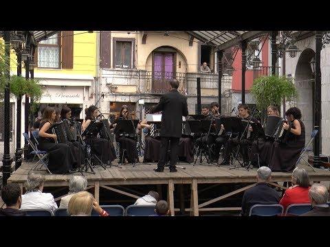 Isidro Larrañaga Akordeoi Orkestrak kontzertua eskaini du asteburuan