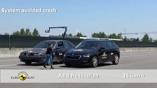 Euro NCAP Crash Test of Škoda Scala 2019
