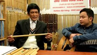 Nghệ sỹ thổi sáo chuyên nghiệp chọn sáo trúc như thế nào