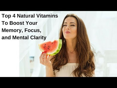 How to boost your memory, focus and clarity with 4 natural earth grown vitamins