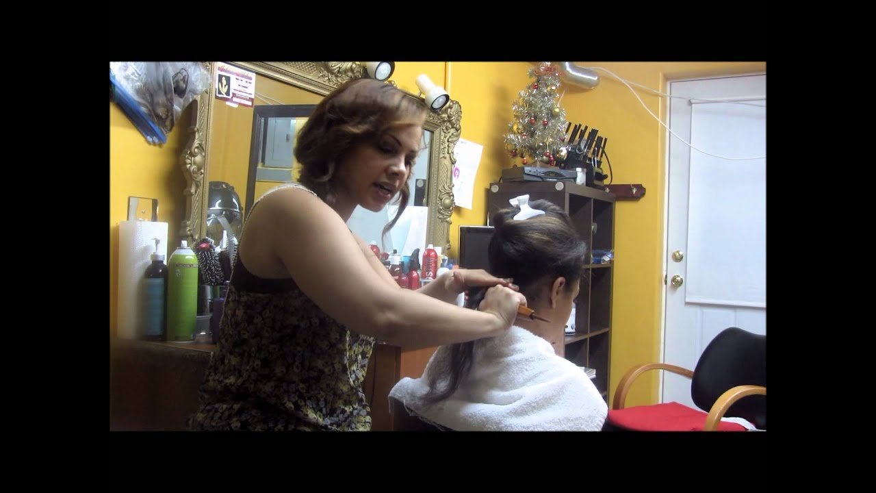 Dominican Hair Style: How To BLOWDRY Hair Dominican Style