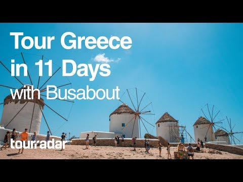 Tour Greece in 11 Days with Busabout