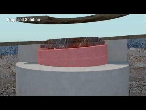 Manhole Cover Asymmetrical Raiser Rings Concept - Neil Gumbley, Opus Rotorua