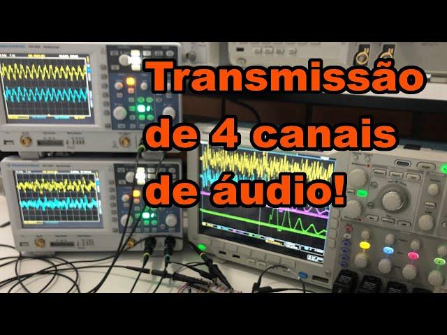 INSPIRADOR! TRANSMISSÃO DE 4 CANAIS DE ÁUDIO! | Conheça Eletrônica! #192