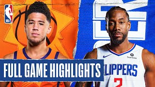 SUNS at CLIPPERS | FULL GAME HIGHLIGHTS | August 4, 2020