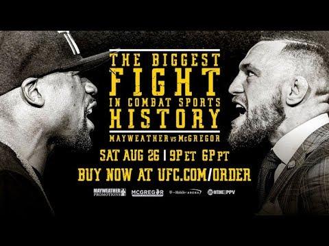 Najważniejsze Fakty z finałowej konferencji prasowej Mayweather vs McGregor. Conor znokautuje Floyda w 2 rundzie!