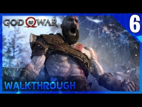 God of War Walkthrough Part 6 - No Commentary Gameplay (PS4) GoW4
