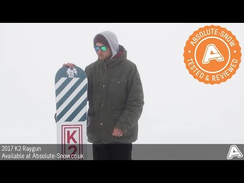 2016 / 2017 | K2 Raygun Snowboard | Video Review