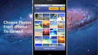 Upload photos from iPhone to Facebook