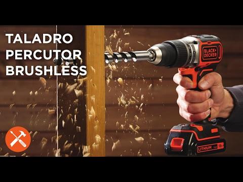 Nuevo Taladro Percutor BRUSHLESS de BLACK+DECKER™