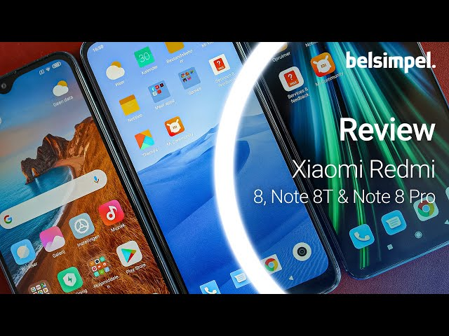 Belsimpel-productvideo voor de Xiaomi Redmi Note 8 Pro 64GB Blue