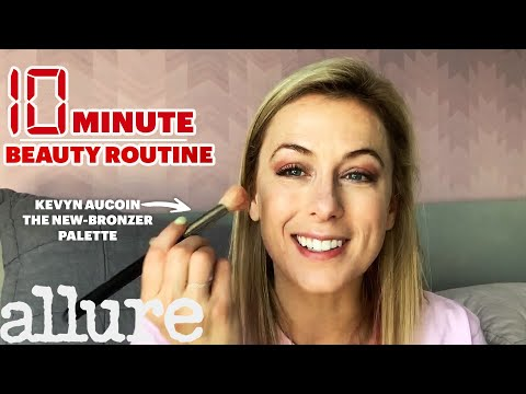 Iliza Shlesinger's 10-Minute Stage-Ready Makeup Routine | Allure