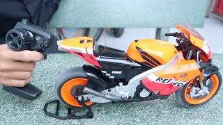 Lâm Vlog - Xe Moto Điều Khiển Từ Xa Cực Chất | Superbike Mini Moto