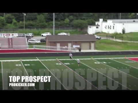 Zach Clements, Punter, Ray Guy Prokicker.com Top Prospect Camp 2016