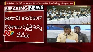 Chandrababu Naidu Sensational Comments in Collectors Meeti..