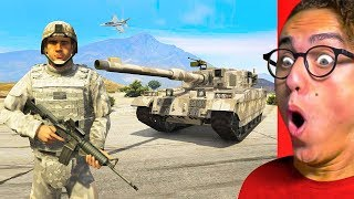 JOINING THE ARMY IN GTA 5! (GTA 5 Mods)