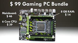 $99 LGA 2011 Motherboard 6-Core CPU 8 GB RAM Budget Bundle