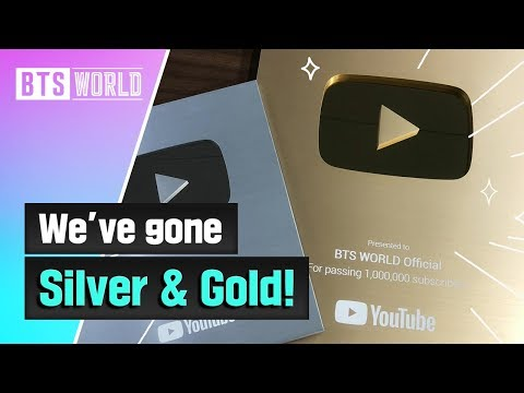 [BTS WORLD] We've gone Silver & Gold!