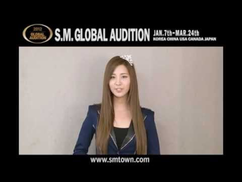 2012 S.M. GLOBAL AUDITION ARTIST Message(ver.INTL)