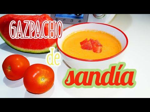 Gazpacho de sandi?a Thermomix