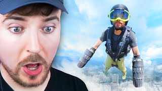 Real Flying Suit!