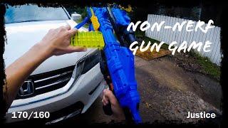 Nerf meets COD | Non-Nerf Gun Game!
