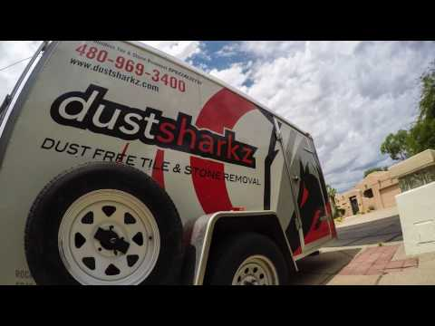 Dustsharkz Dust Free Tile Removal - The Smart Choice