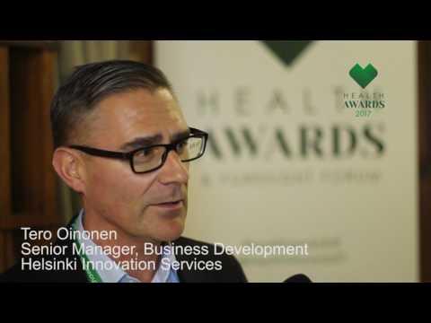 Health Awards 2017 -haastattelu: Tero Oinonen