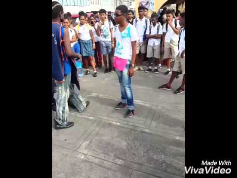Afro dance at Mauritius part 2 Breezy Gang