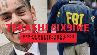 BREAKING UPDATE: Tekashi 6ix9ine Irrefutable Proof Presented by Feds for Indictment