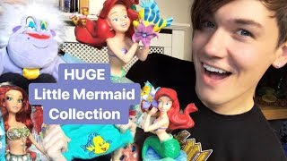 HUGE Little Mermaid Collection | Plush, Collectibles, Dolls, Clothing, Primark, Disney Store & More!