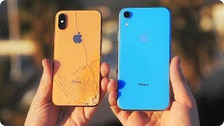 The iPhone XR Drop Test...I Didn't Expect This