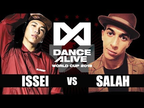 ISSEI(Japan) vs SALAH(France) FINAL / DANCE ALIVE WORLD CUP 2018