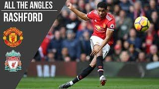 All the Angles: Marcus Rashford v Liverpool